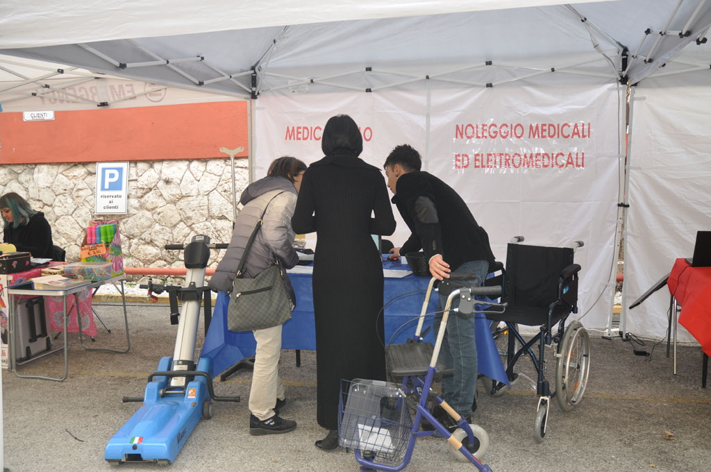 lo stand Medical Nolo medicali