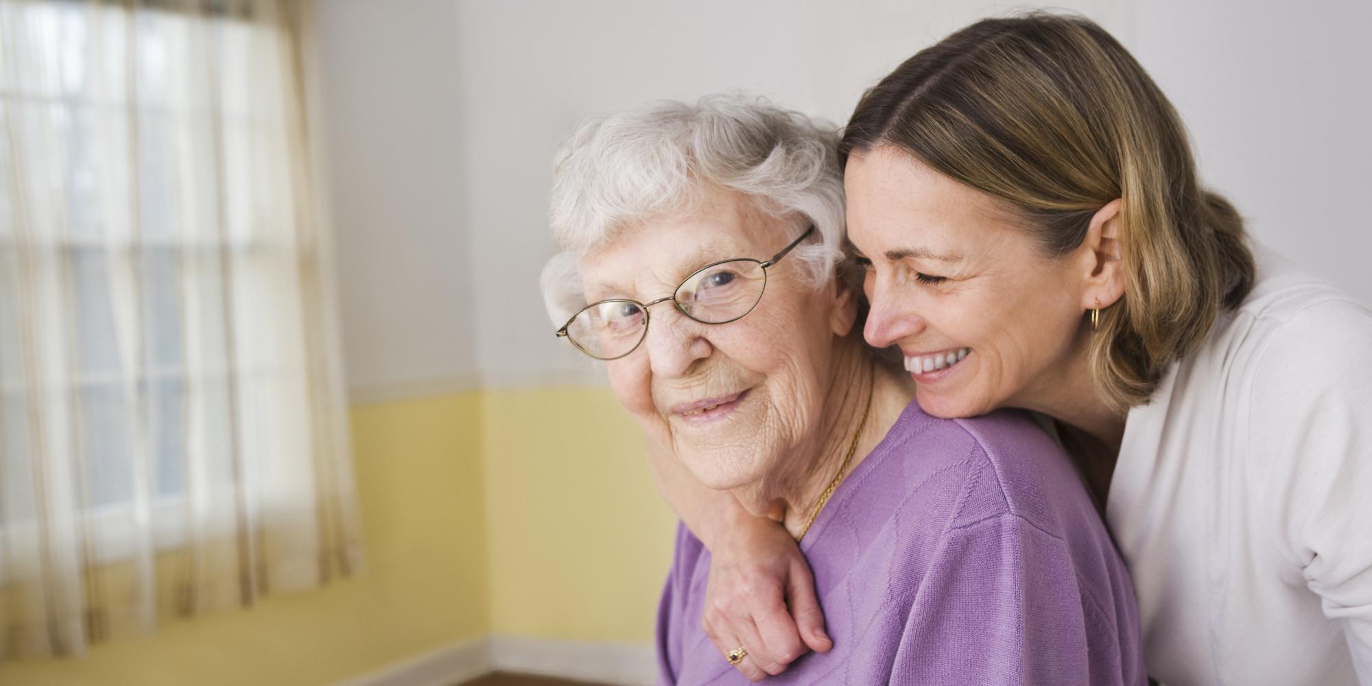 genitori anziani